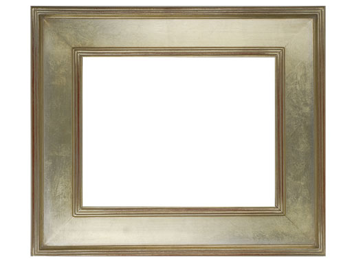 Beautiful Frame * 9 x 12  Arts /& Crafts Picture Frame Hand Applied Silver Leaf